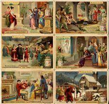 Chromo Liebig Sang. 416 TED Scene di Natale ANNO 1894