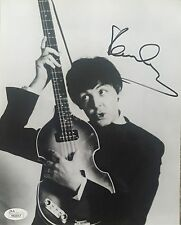 Paul McCartney Signed The Beatles Autographed 8x10 Photo JSA Certified Y83517