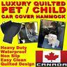 PET CAR BACK SEAT COVER Premium Waterproof Dog Hammock Nonslip Protector Mat