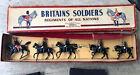Vintage Britains Lead Soldier - THE ROYAL HORSE GUARDS 5pcs No.2