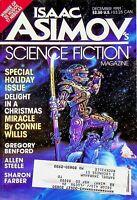 Vtg. Isaac Asimov's Science Fiction Magazine December 1991 Connie Willis m707