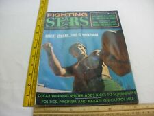 Robert Conrad Ron Ely Karate Fighting Stars 1974 Magazine