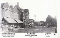 Old Acton Postcard - The Parade - Acton Green c1903 - Pamlin Prints  U813
