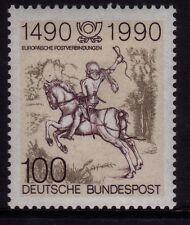 W GERMANY 1990 the 500th anniversaire Postal communication en Europe SG 2297 MNH