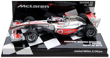 Minichamps McLaren Mercedes Showcar 2010 - Jenson Button 1/43 Scale