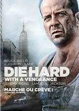 Die Hard With a Vengeance Bruce Willis Samuel L Jackson - Vhs 1995