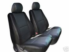 MERCEDES BENZ 500SL560SL 1986-1991 IGGEE S.LEATHER CUSTOM SEAT COVER 13 COLORS