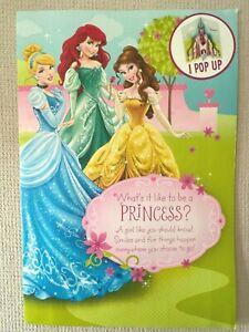 "Princess Birthday Greeting Card Giant Hallmark Card 16x11"" (A13)NEW"