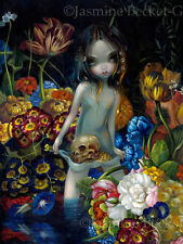 Jasmine Becket-Griffith surrealism art print SIGNED The Offering I