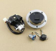 Ignition Switch Lock Gas Cap Set Lock Key for Suzuki GSF650 Bandit 650 2005-2012