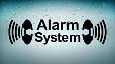 Sticker adesivi adesivo auto moto alarm system sicurezza e allarme
