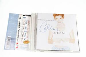 CELINE DION FALLING INTO YOU ESCA 6410 CD JAPAN OBI A14336