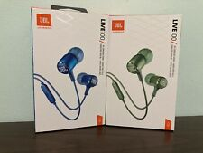 2-Pack JBL Live 100 In-Ear Earphones Hands-Free Headset Calls Voice Assistant