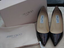 JIMMY CHOO AURORA ABSTRACT-PRINT PATENT LEATHER PUMP HEEL SHOES NEW IN BOX 36/6