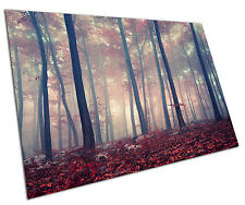 RED FOREST WALL ART LARGE A1 POSTER 33 X 23 INCH