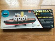 Radio control boat Long Beach 400 Semi scale wooden kit model Total 400mm