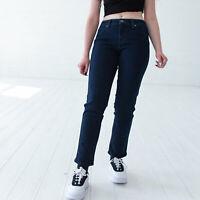 Levi's Flatters & Flaunts dunkelblau Damen Jeans DE 36 W29 L32