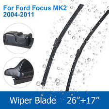 "BRAND NEW FRONT WINDSCREEN FORD FOCUS MK2 2004-2011 WIPER BLADES 26""17"""