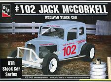 32 Ford Modified Stock Car # 102 Jack McCorkel model kit