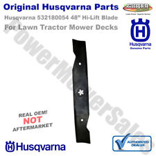 Husqvarna 532180054 Hi-Lift Blade Replacement for Riding Lawn Mowers