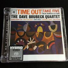 Dave Brubeck Quartet Time Out Hybrid Stereo SACD CD Limited No. Edition
