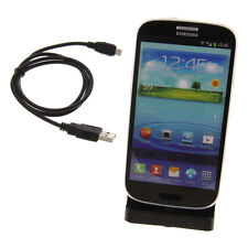 USB Dockingstation schwarz für Samsung Galaxy S3 I9300