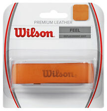 Wilson Premium Leather Tennis Racquet Racket Replacement Grip