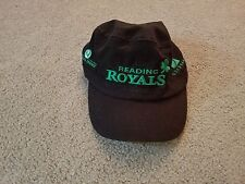 Reading Royals Ice Hockey Hat Cap-Black with Green Lettering Never Worn