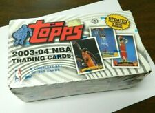 2003 04 Topps Basketball Factory Set MINT Lebron James Rookie