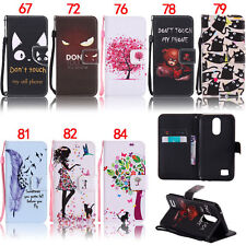 Bear Cat Eye Wallet Leather Flip Case Cover Stand For LG K3 K8 K10 2017 G6 5.7""