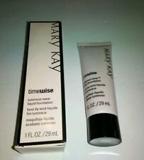 New In Box MARY KAY Timewise Matte-wear liquid foundation 1 FL OZ Ivory 3