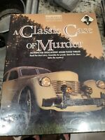 A Classic Case of Murder BEPUZZLED Mystery Jigsaw Puzzle Thriller!