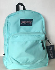 NEW ARRIVAL! JANSPORT SUPERBREAK AQUA DASH GREEN SCHOOL TRAVEL BACKPACK BAG SALE
