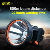 Rechargeable Headlight LED Headlamp Working Fishing Camping Head Lamp Torch Out