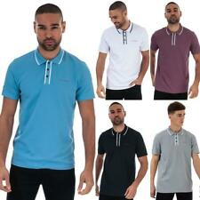 Mens Ted Baker Golf Bunka Polo Shirt in White, Grey, Blue, Navy Blue, and Purple
