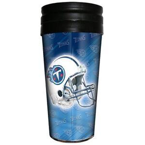 Tennessee Titans Majestic NFL 16oz Logo Wrap Travel Mug FREE SHIP!!