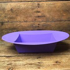 Low Floral Arrangement Design Container - Oasis Purple Plastic Oval