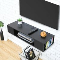 FITUEYES Wall Mounted Floating Media Console, Component Shelf Stand