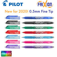 Frixion by Pilot Rollerball Pen Erasable 0.5mm Tip Fine BL-FR5 New for 2020