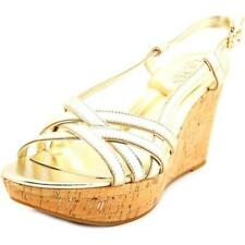 Calzado de mujer de color principal oro de piel talla 37