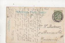 Willie Bateson Barnes Road Morecambe 1908 576b