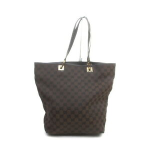 Gucci Tote Bag  Dark Brown Canvas 2406795
