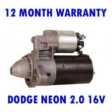 DODGE NEON 2.0 16V SALOON 1994 1995 1996 1997 - 2001 RMFD STARTER MOTOR