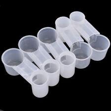5pcs Durable Plastic Pet Bird Duplex Drinker Feeder Pigeon Water Bottle Cup