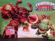 "Skylanders Giants  Plastic Placemat 12"" x 17"" Girls 3 yrs + New 2014"