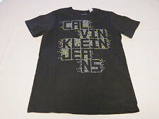 Boys Calvin Klein Jeans t shirt tee youth XL 18/20 Dk Grey 2 35B64050-09