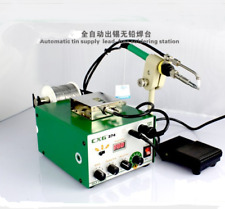 CXG374 automatic Tin Supply Feed System lead-free Welding soldering station NEW