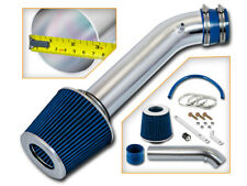 BCP BLUE 92-95 Civic/93-97 Del Sol 1.5/1.6L Short Ram Air Intake System + Filter