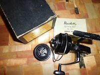 Vintage Raichell French Model 64 Spinning Reel made in Japan w/ Spare Spool