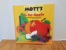 MOTT'S A is for Apple and all things that grow! Alphabet book Homeschool